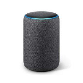 مكبر صوت ذكي Echo Plus من  Amazon  (الجيل الثاني) -  رمادي فحمي جهاز أمازون Echo Plus (الجيل الثاني) بمكبر صوت ذكي -  رمادي فحمي