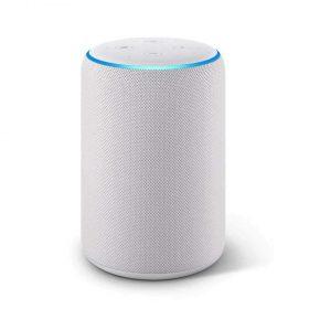 جهاز أمازون Echo Plus (الجيل الثاني) بمكبر صوت ذكي - رملي