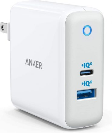 شاحن ANKER POWERPORT ATOM III PIQ3.0 60W - أبيض