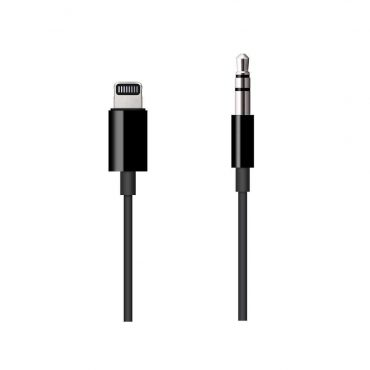 كابل أصلي Lightning  إلى مقبس صوت 3.5 ملم مقاس 1.2 متر من Apple