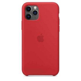 كفر أصلي سيليكون لآيفون 11 Pro من Apple - أحمر
