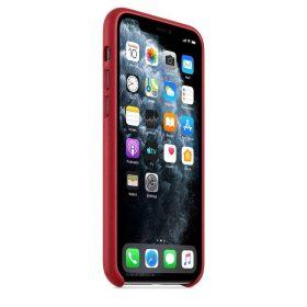 كفر جلدي أصلي لآيفون 11 Pro من Apple - أحمر