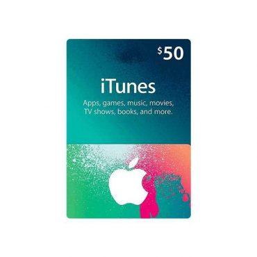 بطاقة Apple - iTunes Card $50