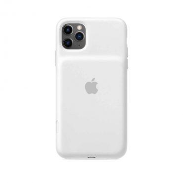 حافظة بطارية ذكية أصلية لآيفون 11 Pro  من Apple - أبيض
