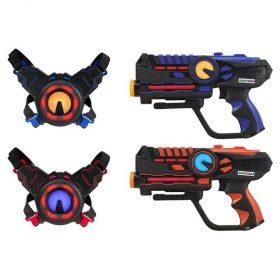 لعبة مسدس الليزر Armogear - Battle Toy - Set of 2 - أزرق  أحمر