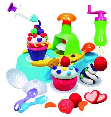 لعبة صنع الكيك SIMBA - A&F Dough Set Cupcake