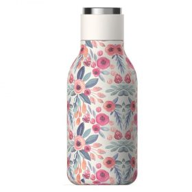 زجاجة ماء Asobu - Stainless Steel Water Bottle 16 Ounce -  زهري مورّد