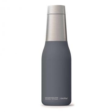 زجاجة ASOBU - Oasis Vacuum Insulated Double Walled Water Bottle 600 ml - رمادي