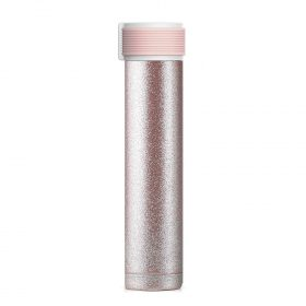 زجاجة ASOBU - Skinny Mini 8oz Stainless Steel Insulated Water Bottle - Nude