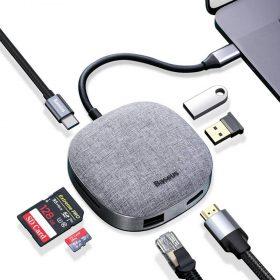 وصلة Baseus 7in1 USB Type C متعدد الوظائف
