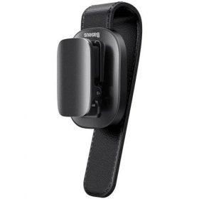 مشبك نظارة Baseus platinum vehicle eyewear clip clamping type للسيارة - أسود