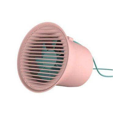 مروحة مكتب Baseus Small Horn Desktop Fan Pink
