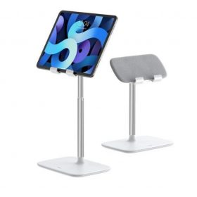 حامل تابلت Indoorsy Youth Tablet Desk Stand (Telescopic Version) أبيض