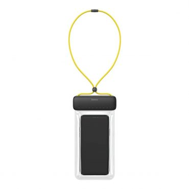 حافظة هاتف ضد الماء Baseus Let''s go Slip Cover Waterproof Bag – أصفر / رمادي