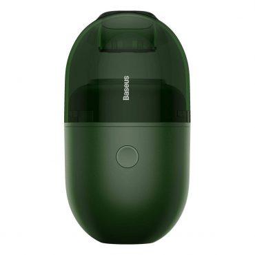 المكنسة الكهربائية الصغيرة Baseus C2 Desktop Capsule Vacuum Cleaner خضراء