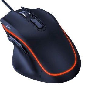ماوس الألعاب Baseus GAMO 9 Programmable Buttons Gaming Mouse – أسود