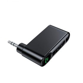 جهاز استقبال البلوتوث Baseus Qiyin AUX Car Bluetooth Receiver  المحمول  الأسود