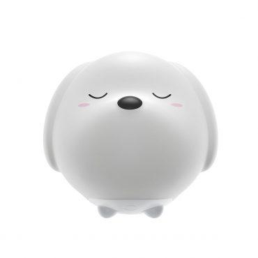 إضاءة ليلية من السيليكون Baseus Cute series doggie silicone night light- أبيض