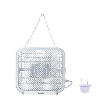 مصباح كهربائي لصعق البعوض Baseus Breeze wall-mounted bug zapper(EU) - أبيض