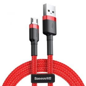 كابل Baseus cafule Cable USB For Micro 1.5A 2 متر -أحمر