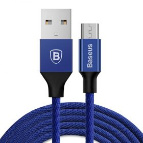 كابل Baseus Yiven Cable For Micro 1متر - الأزرق الداكن
