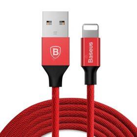 كابل Baseus Yiven Cable For Apple ١.٢ متر -  أحمر