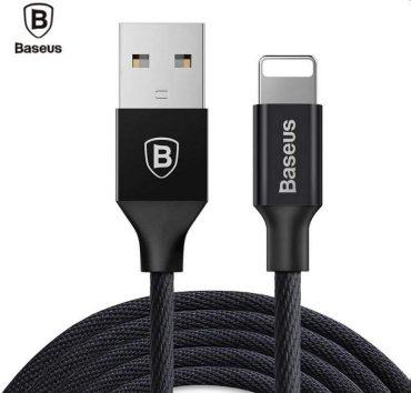 كابل Baseus Yiven Cable For Apple  ٣  متر - أسود