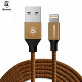 كابل Baseus Yiven Cable For Apple ١.٢  متر - بني