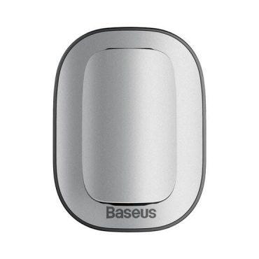 مشبك وحامل النظارة للسيارة Baseus Platinum Vehicle eyewear clip(Paste type) - فضي