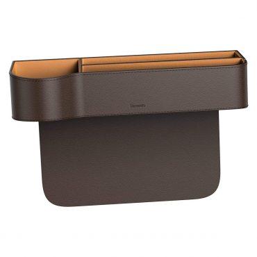 صندوق تخزين للسيارة Baseus Elegant Car Storage Box - بني