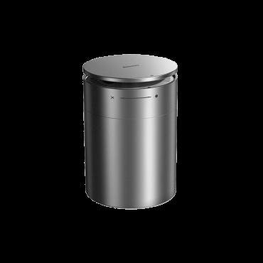 معطر هواء السيارة Baseus Minimalist Car Cup Holder Air Freshener(with Formaldehyde Purification Function) برائحة الكولونيا فضي