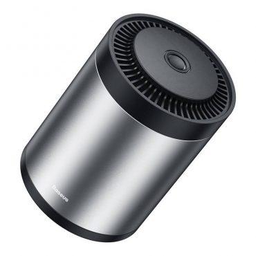 معطر الجوBaseus Ripple Car Cup Holder Air Freshener with Formaldehyde Purification Function فضي