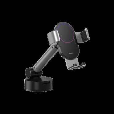 حامل هاتف للسيارة Baseus Simplism gravity car mount holder with suction base– فضى