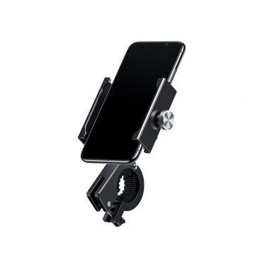 حامل هاتف للدراجات النارية  Baseus Knight Motorcycle holder(Applicable for bicycle)- أسود