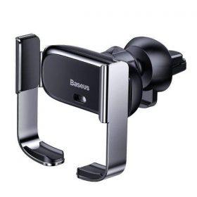 حامل هاتف السيارة Baseus Mini Electric Car Holder - أسود