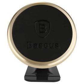 حامل هاتف للسيارة Baseus 360-degree Rotation Magnetic Mount Holder(Paste type) – ذهبي