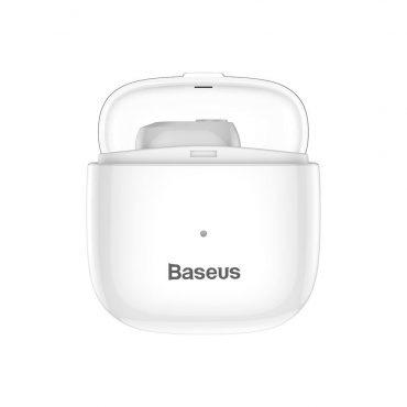 سماعة أذن لاسلكية Baseus Encok Wireless Earphone A03 – أبيض