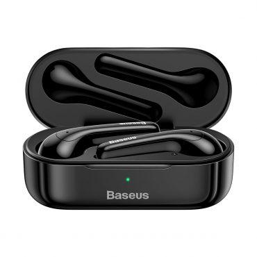 سماعة بلوتوث لاسلكية Baseus Encok True Wireless Earphones W07– أسود