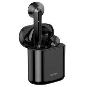 سماعة بلوتوث لاسلكية Baseus Encok True Wireless Earphones W09– أسود