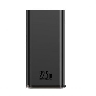 باور بانك Baseus Starlight Digital Display Quick Charg Power Bank 20000mAh – أسود