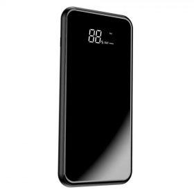 باور بانك Baseus full screen bracket wireless charge Power Bank 8000mAh أسود