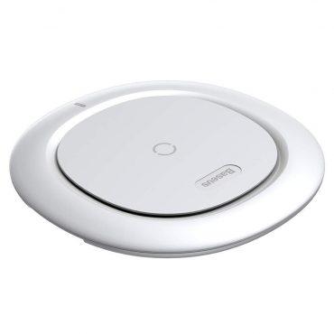 الشاحن اللاسلكي Baseus UFO Desktop Wireless Charger  أبيض