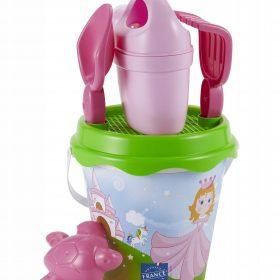 لعبة دلو وحيد القرن ECOIFFIER - 17cm Unicorn bucket garnished