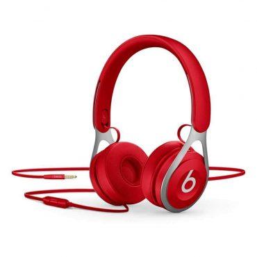 سماعة رأس أصلية EP من Beats - أحمر