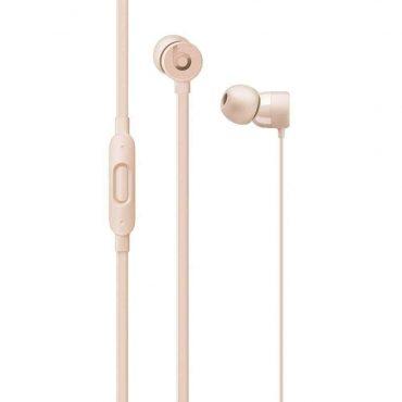 سماعة رأس أصلية urBeats 3 نوع In-ear Dr Dre  من Beats (لايتننج) - ذهبي غير لامع