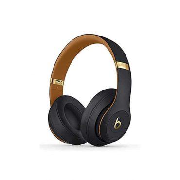 سماعة رأس لاسلكية Studio 3 مجموعة Sky line  من Beats - أسود داكن