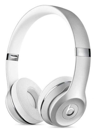 سماعات رأس لاسلكية Over-ear نوع Solo 3 منBeats  - فضي