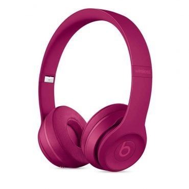 سماعات رأس لاسلكية Over-ear نوع Solo 3 منBeats  - أحمر قرميدي