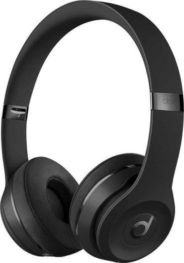 سماعات رأس لاسلكية Over-ear نوع Solo 3 منBeats  - أسود