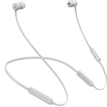 سماعات أذن لاسلكية X من Beats - فضي غير لامع